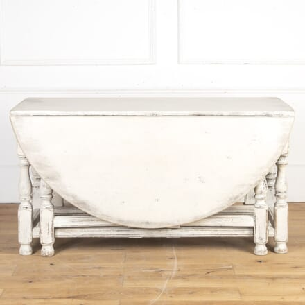 Swedish Rococo Gate-Leg Painted Table TD7316284