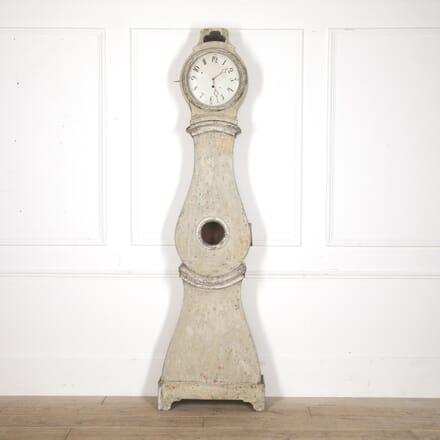 Tall Swedish Rococo Longcase Clock DA6016198