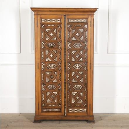 Syrian Olivewood Inlaid Cupboard CU7815283