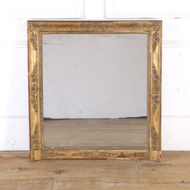French 19th Century Gilt Mirror MI8514114