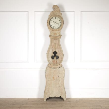 Tall Hälsingland Clock in Original Paint DA6013638