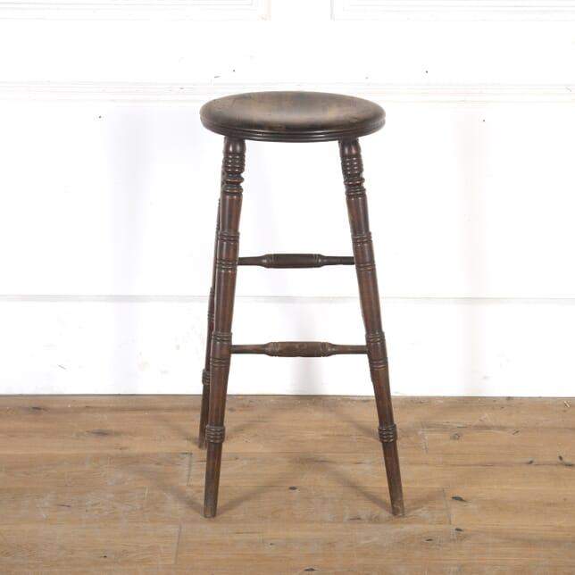 Tall Wooden Bar Stool ST5557999