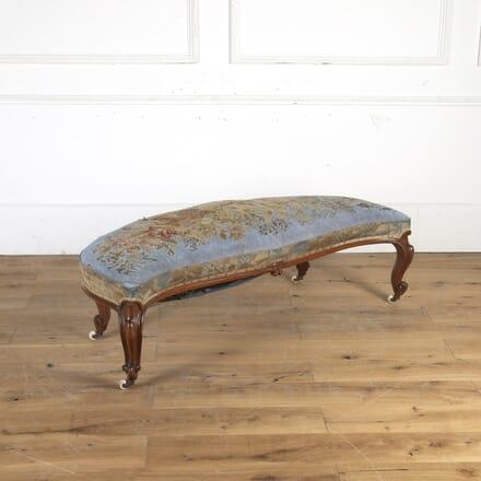 19th Century Walnut Window Seat CH1015624