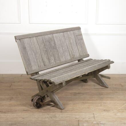 Teak Folding Garden Bench GA7815724