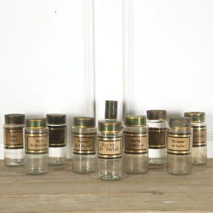 Ten Apothecary Jars DA759315