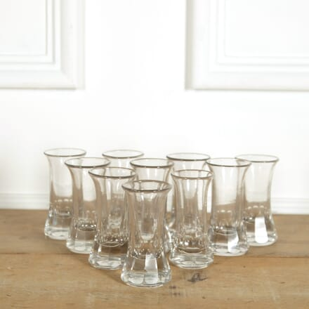 Ten Thumbnail Shot Vodka Glasses DA159102