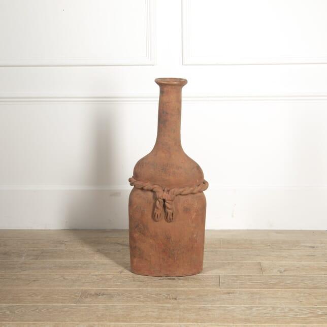 Terracotta Rope Design Vase GA2814810