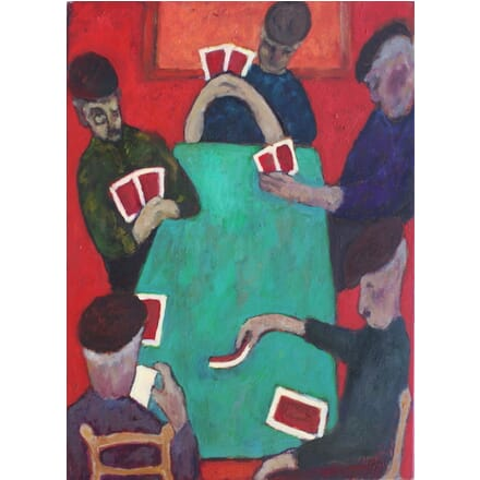 Card Players WD9911228
