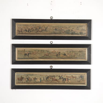 Three Horse and Hounds Prints WD2515939
