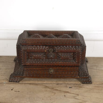 French Tramp Art Box DA1515355