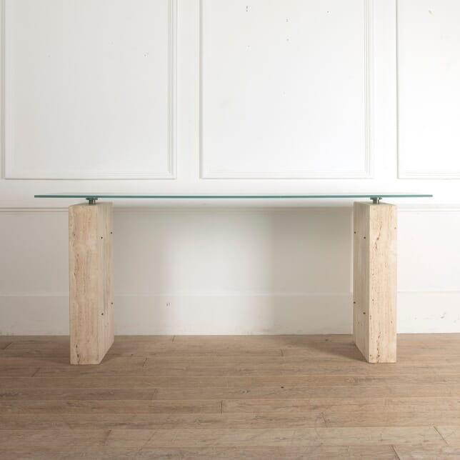 Travertine Console Table TC9911608