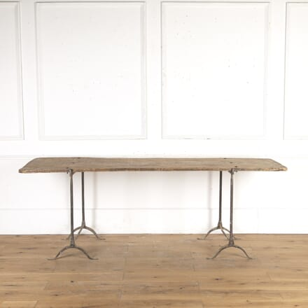 Large French Trestle Table TS3615986