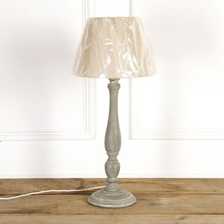 French Table Lamp with Neutral Shade LT7517405