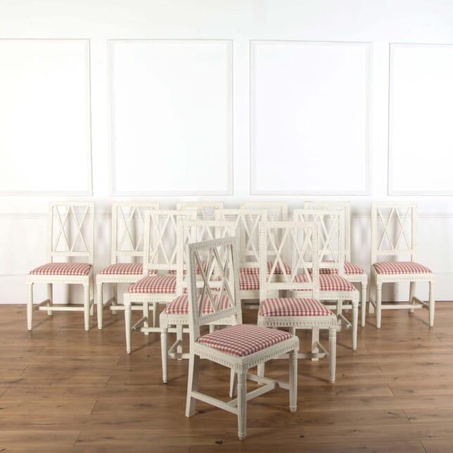 Twelve Swedish Dining Chairs CD9915009