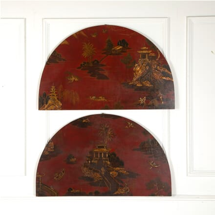 Two Decorative Chinisorie Panels BD1511538