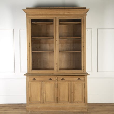 Belgian Pharmacy Oak Vitrine CU7514877