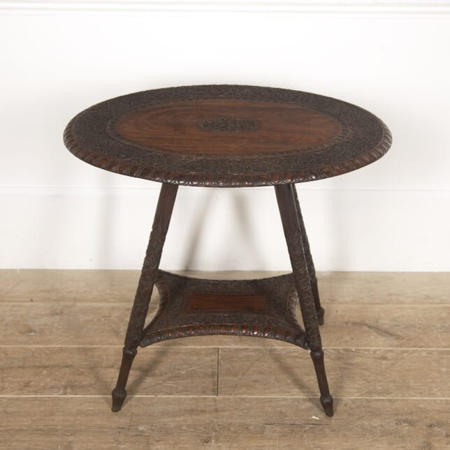 Padouk Two Tier Anglo Indian Side Table CO8217096