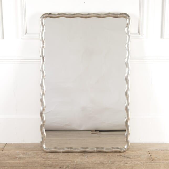 French Silver Gilt Mirror MI4814593