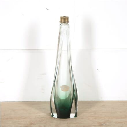 Tall Val Saint Lambert Glass Table Lamp LT9910393