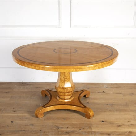 Biedermeier Satinwood Centre Table TC8914304