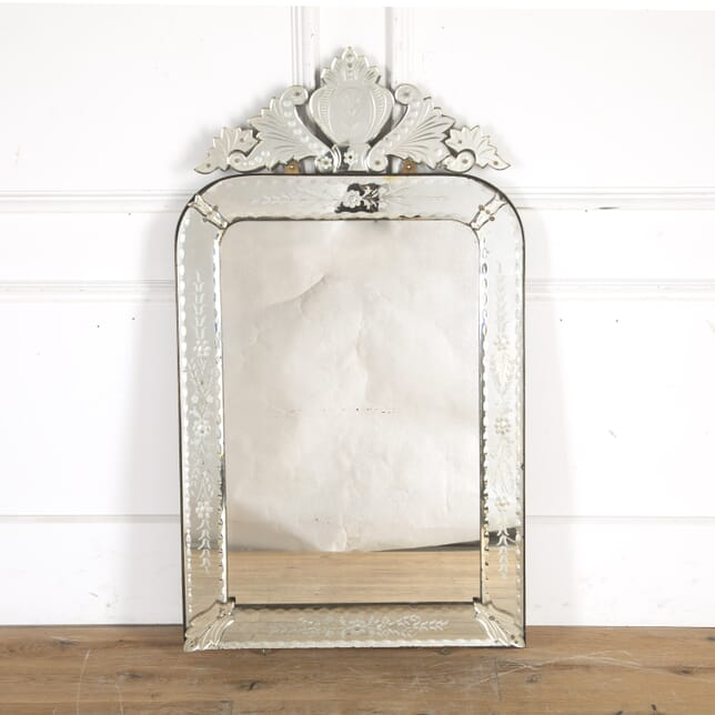 Venetian Engraved Glass Mirror MI8014356