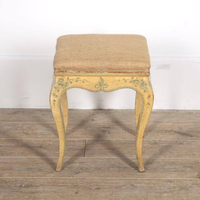 Venetian Louis XV Revival Stool ST1515278