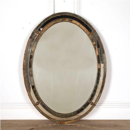 Venetian Style Oval Mirror MI6811082