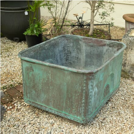 Rectangular Copper Tub GA1911154