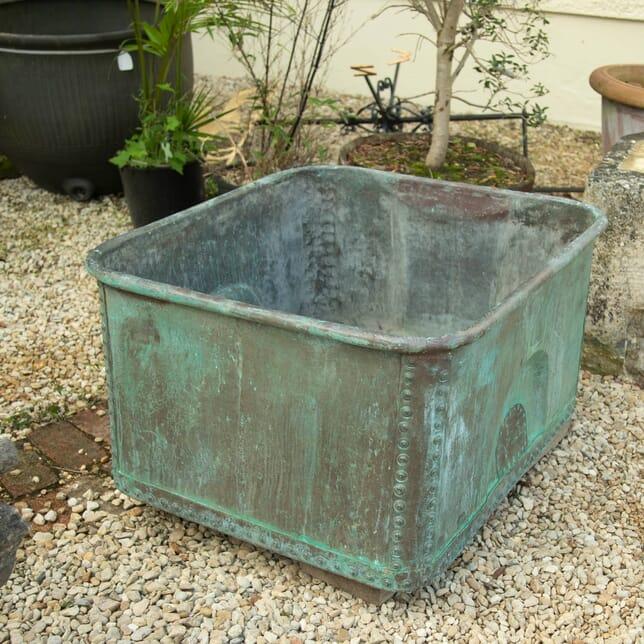 Rectangular Copper Tub GA1911154