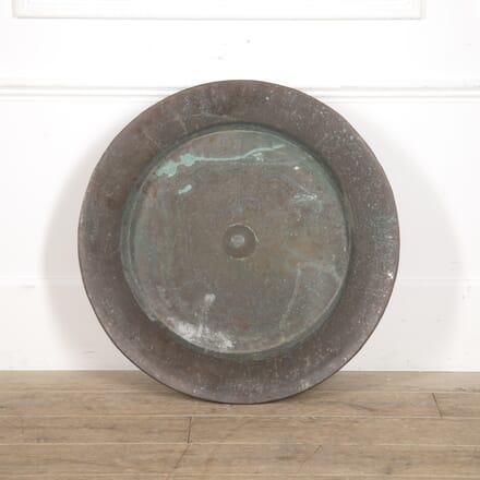 Very Large 19th Century Copper Dish DA1515411
