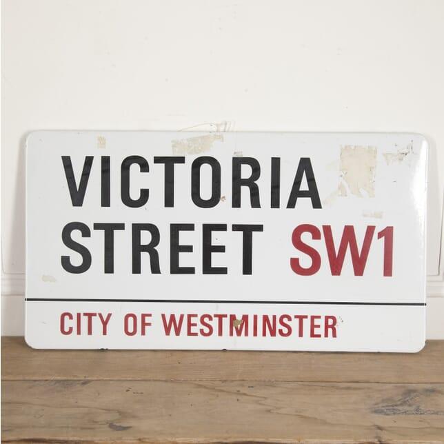 Victoria Street SW1 Sign DA2915891