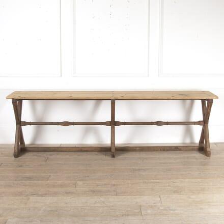Victorian Gothic Pine School Desk CO7814034