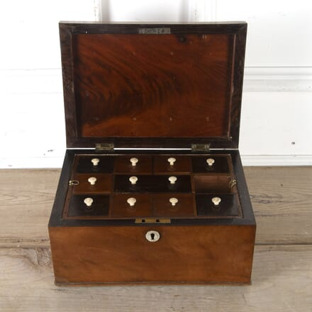 Victorian Inlaid Workbox DA9913736