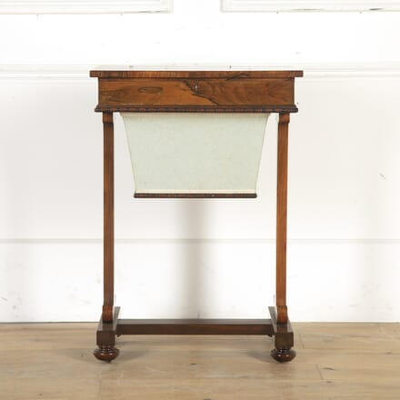 Victorian Rosewood Sewing Table TA8514938