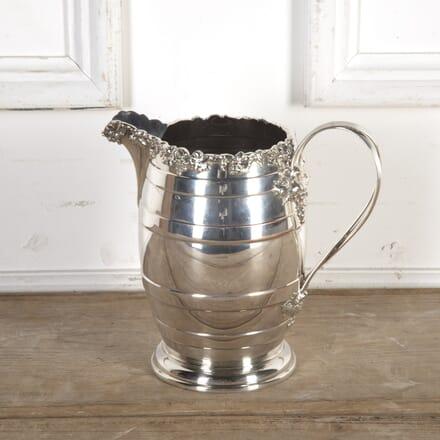 Victorian Silver-Plated Vine Jug DA5816533