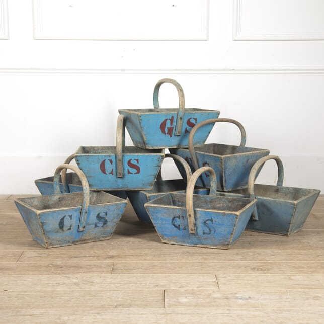 French Painted Vineyard Baskets DA4415557