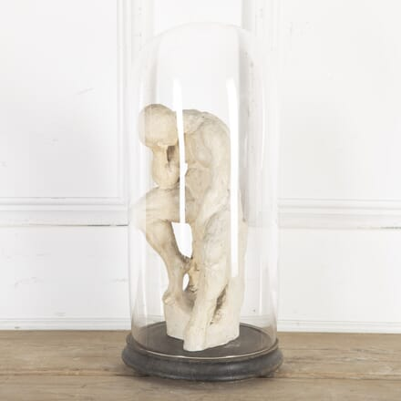 Plaster Representation of Rodin's 'The Thinker' DA8014337