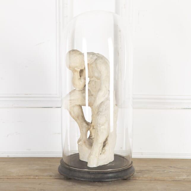 Plaster Representation of Rodin's 'The Thinker' DA8014337