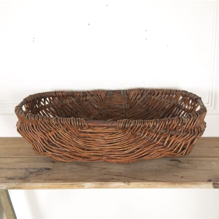 Vintage French Fruit Picking Basket DA7713648