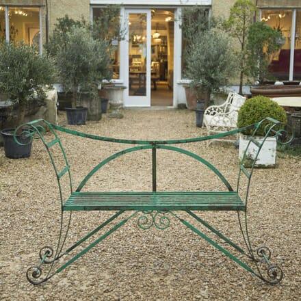 Vintage Garden Bench GA339194