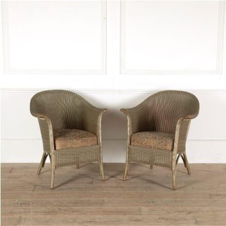 Vintage Lloyd Loom Armchairs CH0510986