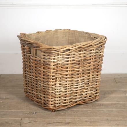 Vintage Wicker Log Basket OF0515876