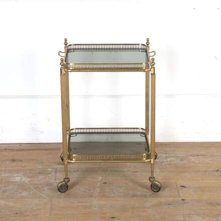 Vintage Square Brass Cocktail Trolley TS5815453