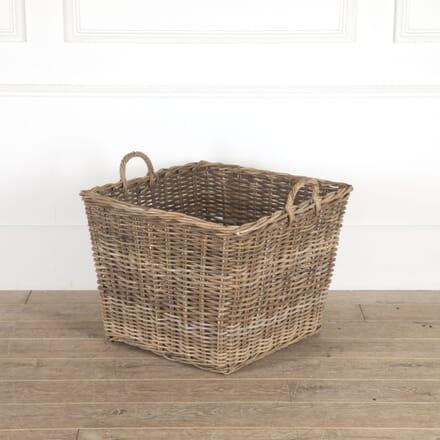 Woven Willow Square Log Basket DA0514365