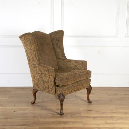 Walnut Wing Armchair CH7260188