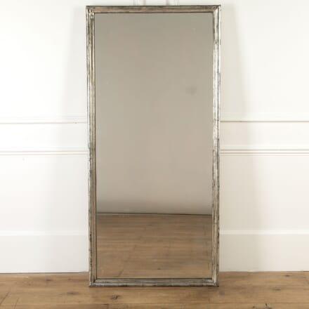French Water Gilded Silver Bistro Mirror MI7116950
