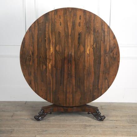 William IV Rosewood Centre Table TC0113812