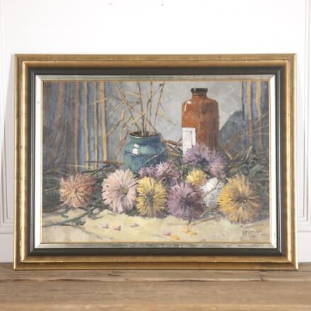 Willian Heytman Oil on Canvas Still life WD8815085