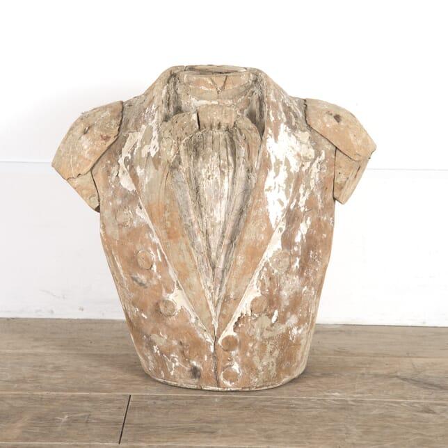 Wooden Bust of Soldier DA0214433