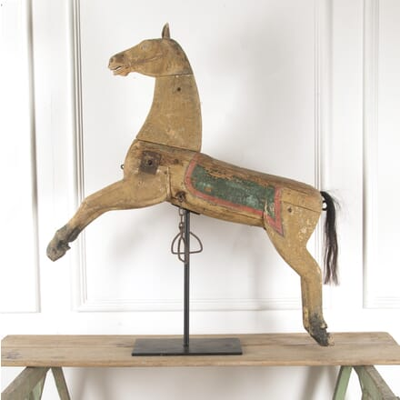 Wooden Folk Art Horse DA6013705